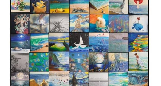 Exposición del taller de pintura del CEAM de Villena