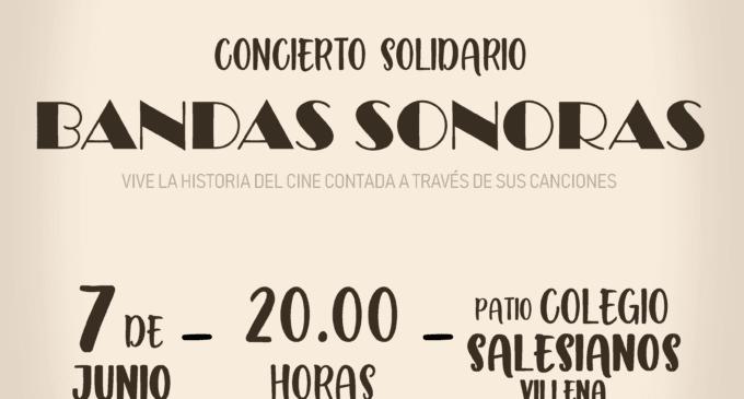 """La Casa Salesiana y el Conservatorio Municipal de Música organizan el concierto Solidario """"Bandas Sonoras"""""""