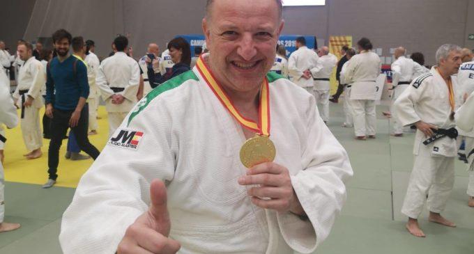 Francisco Beltrán se proclama Campeón de España de Judo Veteranos