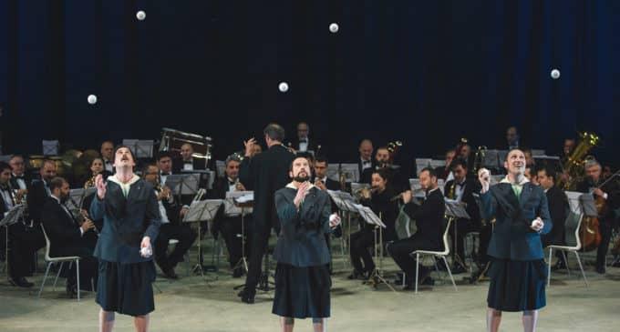 Música y Circo en el Teatro Chapí