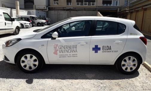 La UHD dispondrá de doce coches para realizar la atención sanitaria a domicilio a partir del próximo martes