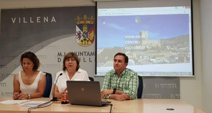 Villena presenta la nueva página web del casco histórico