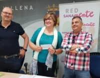 La Red Sanamente recibe 3.720 euros de la acción solidaria de Villena Cuéntame
