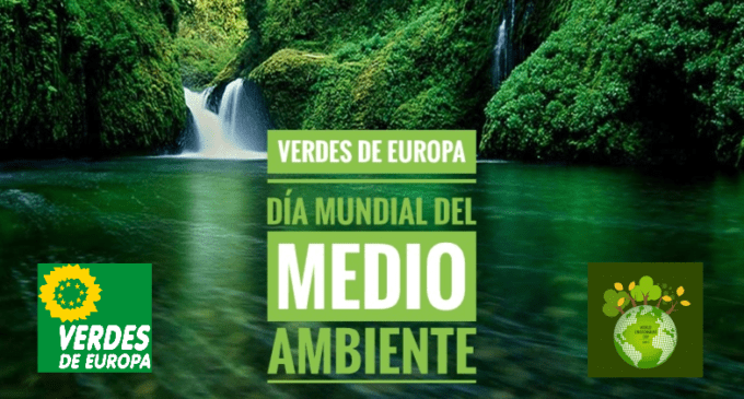 Verdes de Europa conmemora el Día Mundial del Medio Ambiente