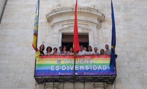 El Ayuntamiento Villena  se suma a la celebración del Día Internacional del Orgullo LGTBIQ