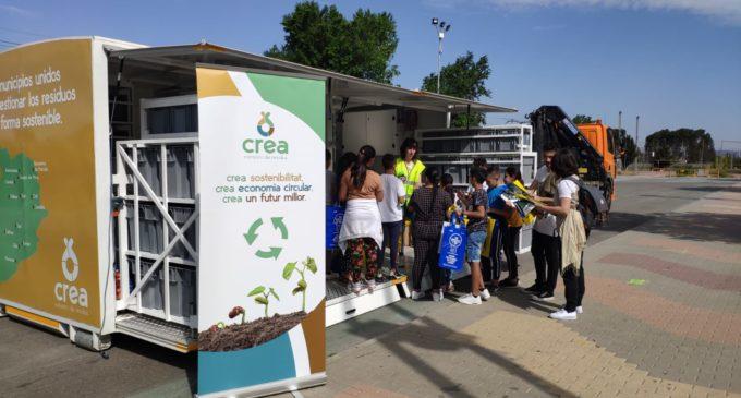 Villena lidera el uso del ecoparque móvil del Consorcio de Residuos Crea