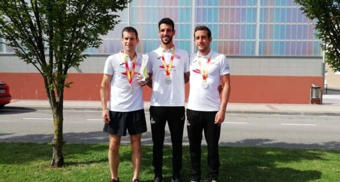 Alberto López, bronce en el Campeonato de España de 10 Km en ruta