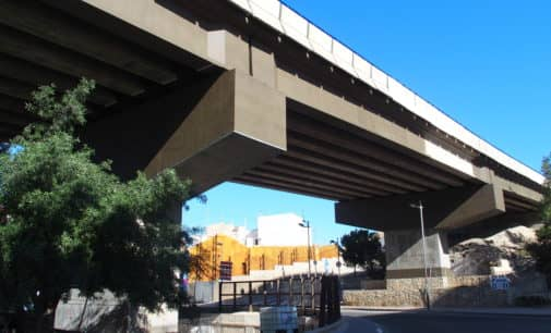 Fomento invierte 100.000 euros en la conservación en el puente de la Losilla