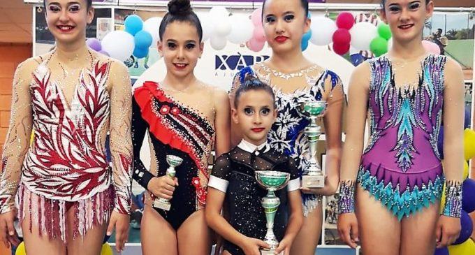 Pía Díaz y Ana Die se proclaman Campeonas Autonómicas de Gimnasia Rítmica en categoría Benjamín e Infantil respectivamente