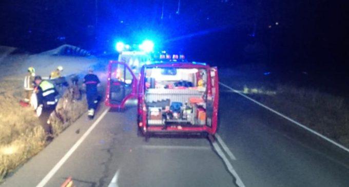 Accidente en la carretera de Caudete sin victimas