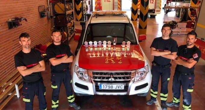 Bomberos de Alicante logran media docena de medallas en el Foro Internacional de Rescate Técnico