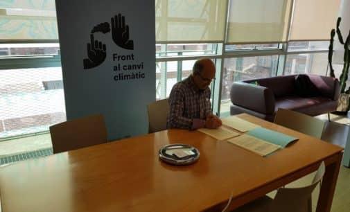 El presidente del Consorcio Crea firma un convenio con la Conselleria de Agricultura para inversiones en mejoras de gestión por 150.000 €