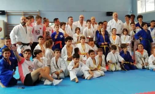 Lucas Yagüe, Lucía Forte, Millán Ortega, Bruno Cabanes se alzan con el Oro en el trofeo de judo de verano Ciudad de Cocentaina