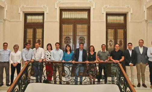 Carlos Mazón estructura el equipo de gobierno de la Diputación de Alicante con dos mujeres como vicepresidenta