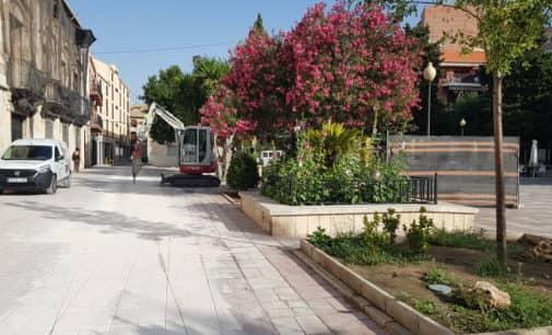 Comienzan las obras en la plaza Las Malvas tras tres años de espera