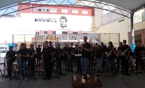 Música de banda en los Salesianos