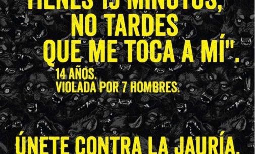 Concentración en Villena contra la sentencia a la violación en grupo de Manresa