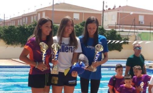 Irene Díaz, Oro en el Trofeo de Natación Virgen de la Asunción de Sax