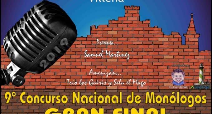 El concurso nacional de Monólogos El Rabal Villena da a conocer a los seis finalistas