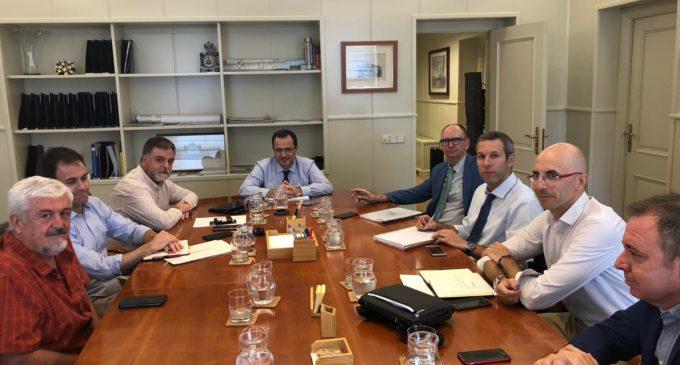 El alcalde de Villena se desplaza al Ministerio de Fomento para abordar los accesos a la estación AVE