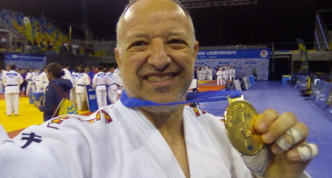 Francisco Beltrán, Campeón de Europa de Judo Veteranos con el equipo España TM5
