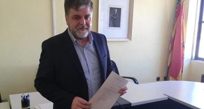 Fulgencio Cerdán recibe la credecial como Diputado provincial de Alicante