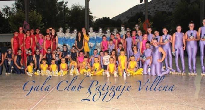 Puesta de largo del Club Patinaje Villena