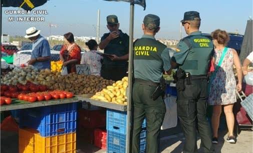 La Guardia Civil detiene a tres personas por el robo de 72 corderos en una finca en Villena