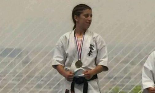 La villenense, Mariví Estevan, campeona de Europa de kárate Kyokushinkai