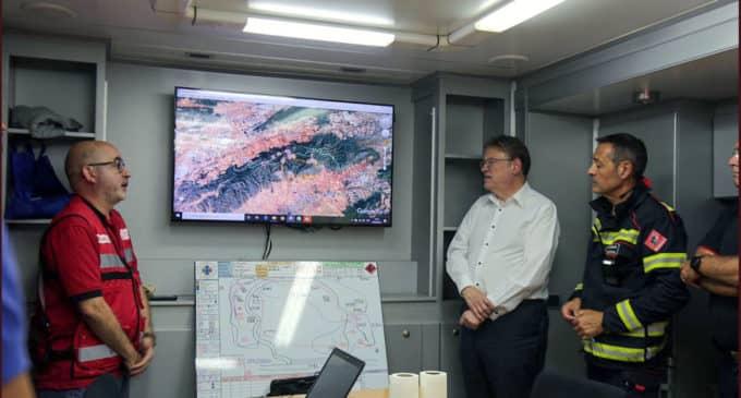 El Seprona investiga el origen del incendio en Beneixama ya que podría ser provocado