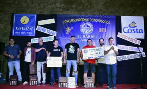 El catalán Dani Luna gana el concurso de monólogo El Rabal Villena