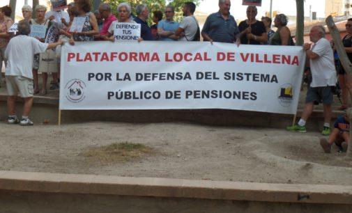 La Plataforma de Pensionistas trasladará sus reivindicaciones al Parlamento Valenciano
