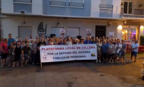 La Plataforma Local acudirá a la manifestación del 16 de octubre en Madrid en defensa del Sistema Público de Pensiones