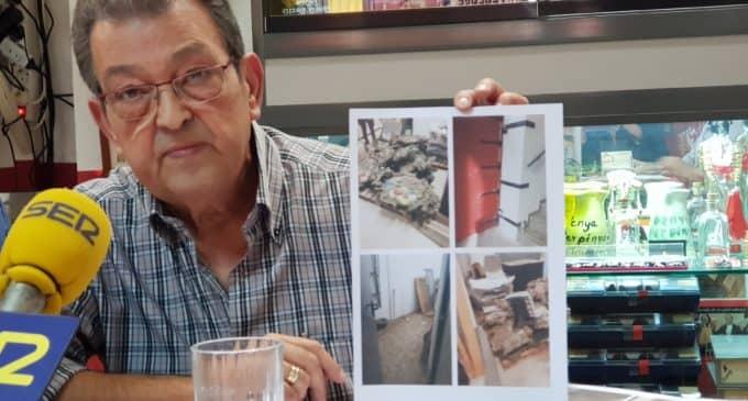 La Peña Taurina denuncia  el espolio de elementos taurinos en la Plaza de Toros