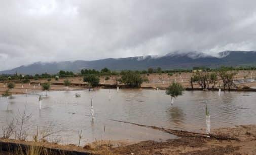 Continúa la alerta roja por riesgo de fuertes lluvias en la provincia