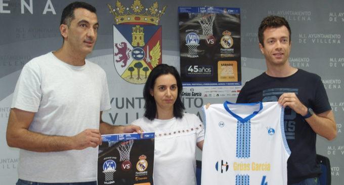 Los veteranos del Real Madrid de baloncesto se unen al 45 aniversario del V-74