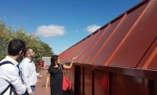 El Ayuntamiento rehabilita la cubierta del Mercado Municipal