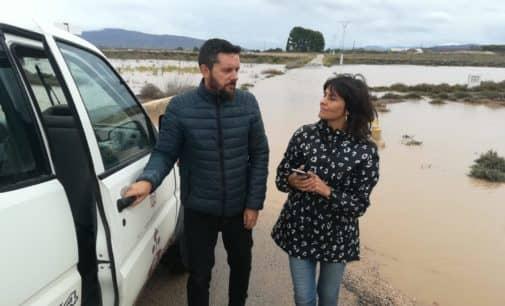 Villena solicitará la limpieza de la Acequia del Rey y una reunión con ADIF para evitar futuras inundaciones