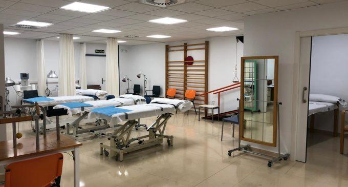 Mejoras en la Unidad de Rehabilitación del Centro de Salud de Villena I
