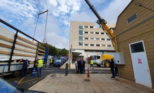 El Hospital de Elda inicia el proceso para instalar dos nuevas plantas enfriadoras