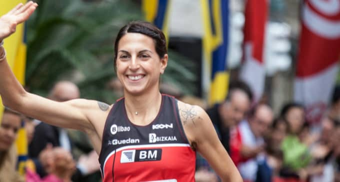 La atleta villenense, Gema Barrachina gana la Cursa de la Mercè en Barcelona