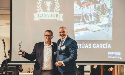 Grúas García galardonada en los IV Premios Movicarga de Elevación