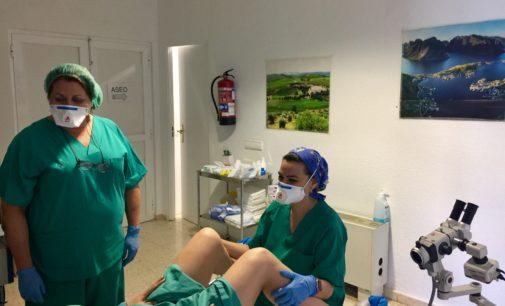 El Hospital de Elda pone en marcha la realización de conizaciones ambulatorias del cuello uterino