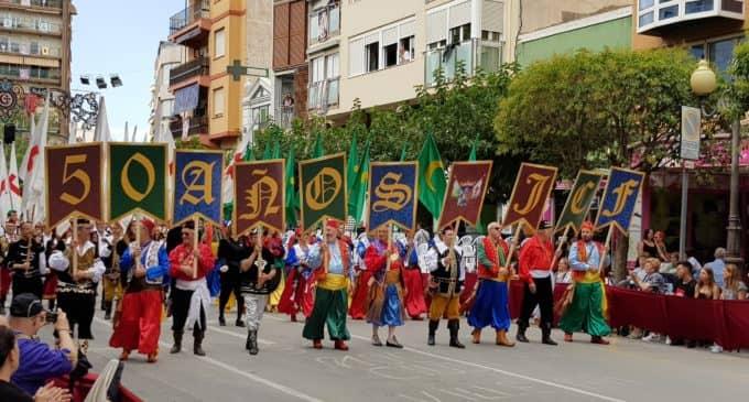Acto inaugural del 50 aniversario de la Junta Central de Fiestas