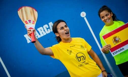 La villenense Lidia Simón, Campeona del Mundo de Paleta Goma Femenina  Sub-22