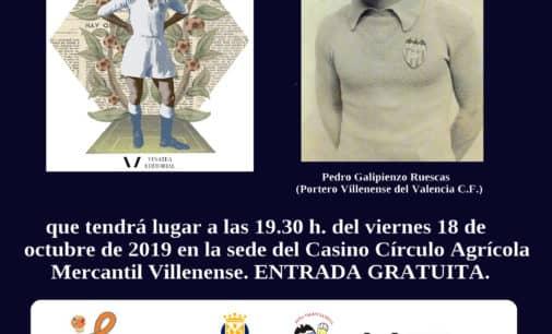 El historiador Salvador Raga ofrecerá una conferencia en el CAMV