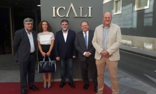 Amplia representación de Villena en la inauguración de la nueva sede del Colegio Abogacía de Alicante
