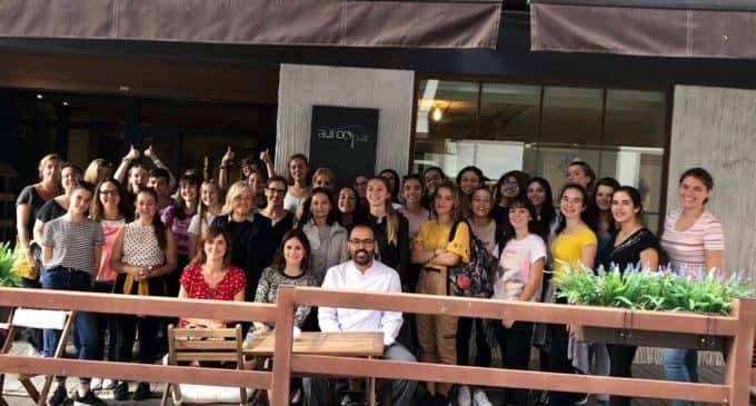 IES Las Fuentes despide a la delegación europea de Erasmus +