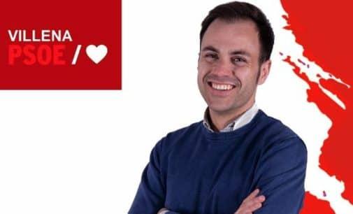 El villenense Pablo Juan Martínez, en las listas  del Congreso de los Diputados