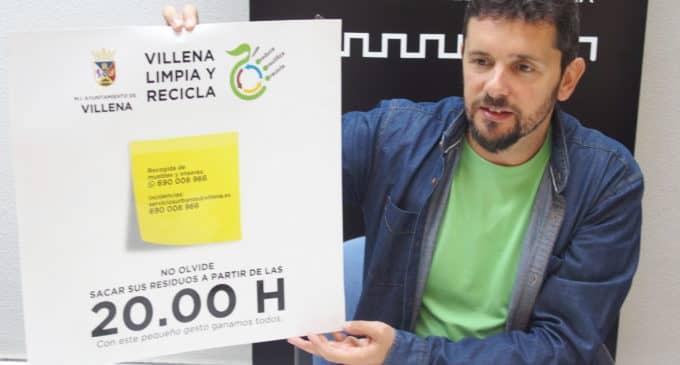 Campaña para el buen uso del contenedor amarillo